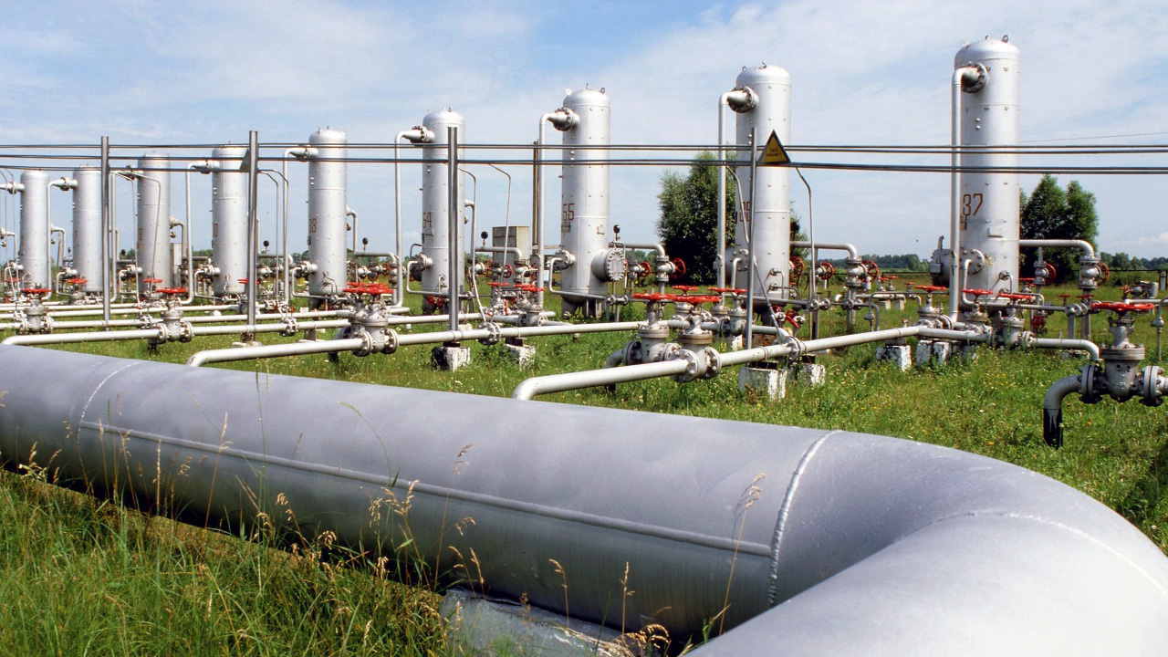 Inserting biogas in natural gas grid